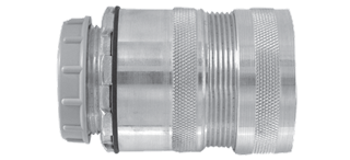 ARMORED CABLE JACKETED MC CONNECTOR