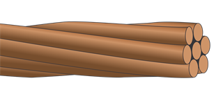 BARE COPPER STRANDED CONDUCTOR